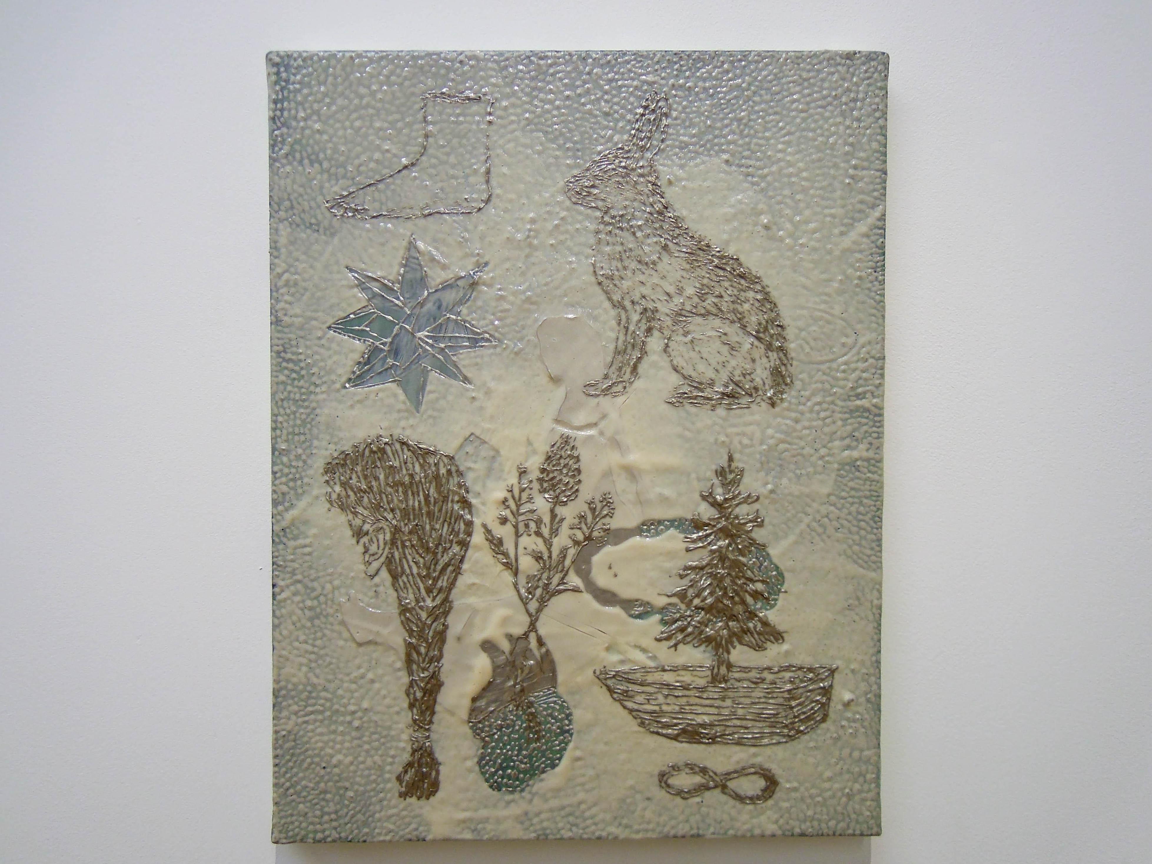 風能奈々展 「線でつなぐ遊びと名前をつけること」 小山登美夫ギャラリー フォトレポート
