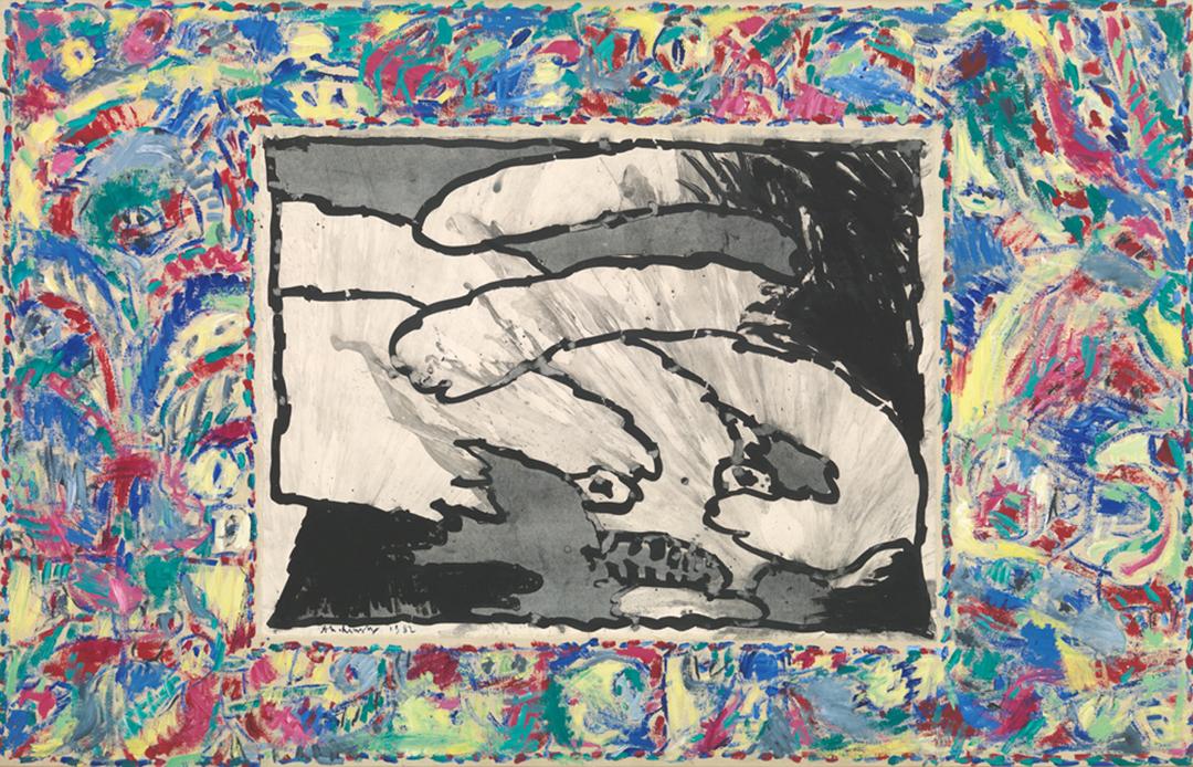「おとろえぬ情熱、走る筆。ピエール・アレシンスキー展」 国立国際美術館 フォトレポート