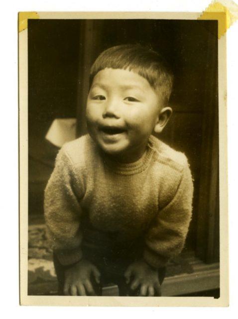 3歳児の森村泰昌くん