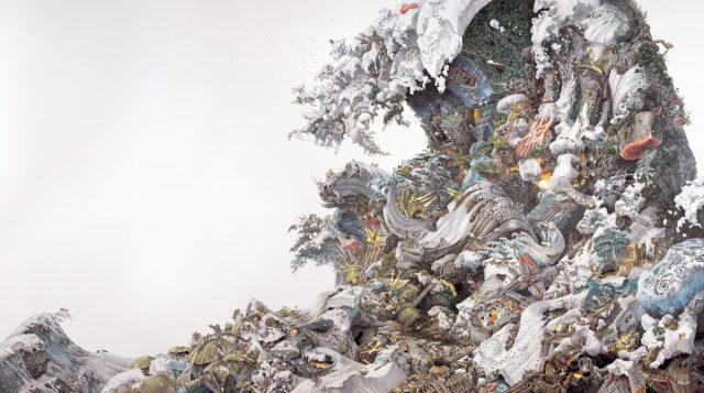 """《予兆》 2008 株式会社サステイナブル・インベスター(神楽サロン)蔵 撮影:久家靖秀 """"Foretoken"""" KAGURA Salon / Sustainable Invester CO., Ltd. Photo: KUGE Yasuhide"""