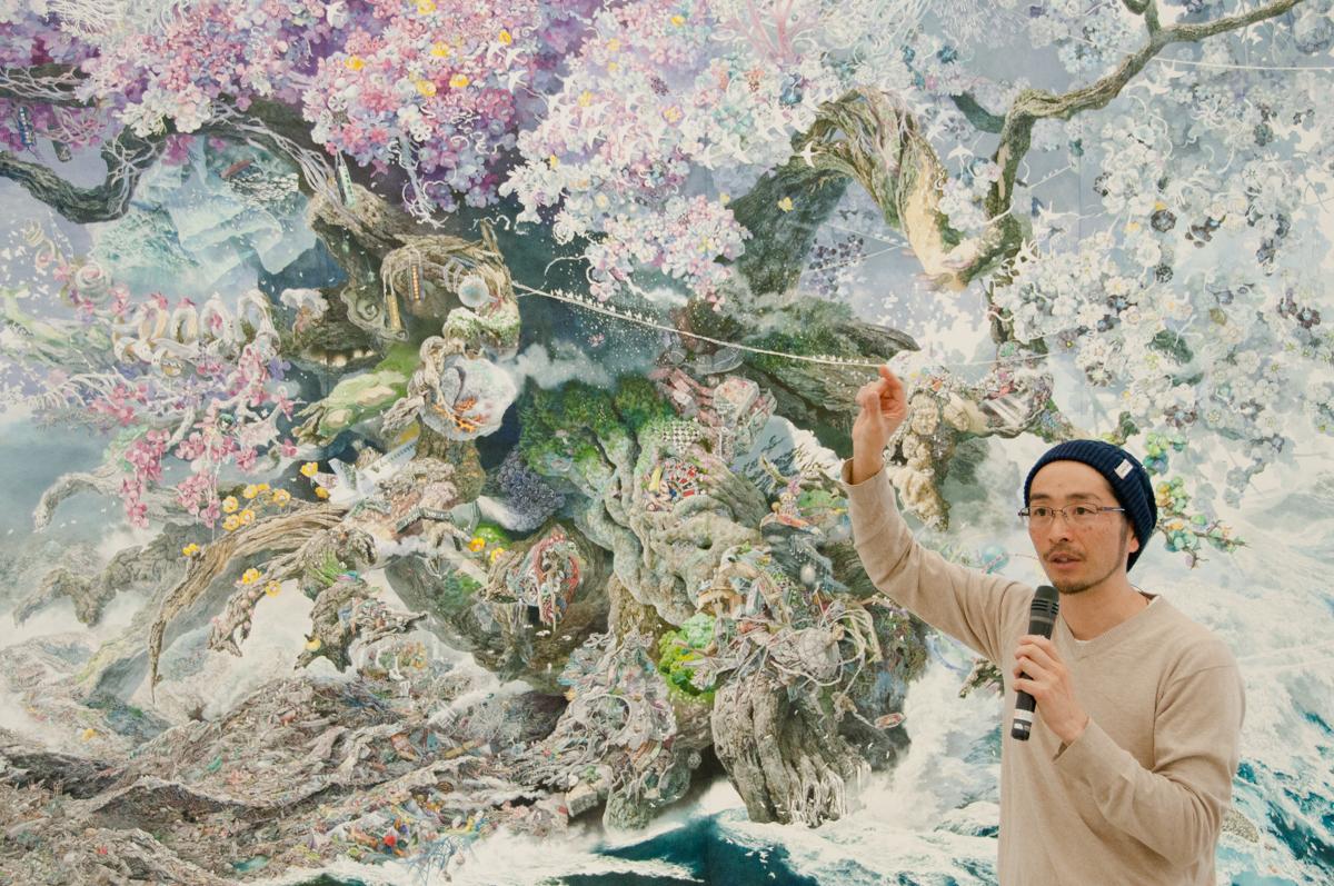 「池田学展 The Pen ー凝縮の宇宙ー」 眼福-凝縮された宇宙と「描かれた」もののかくも豊かな芳醇さ-