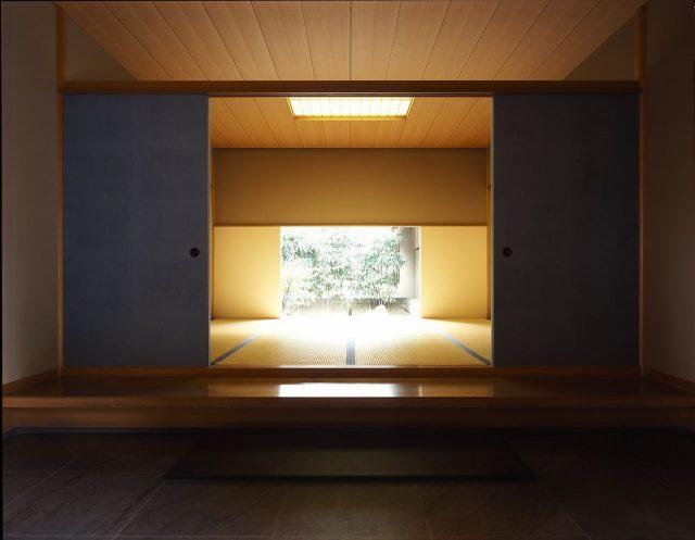 茶室(室内)