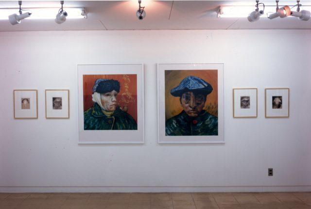 森村泰昌、石原友明、木村浩による展覧会「ラデカルな意志のスマイル」