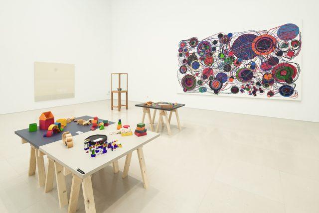 「岡崎乾二郎の認識―抽象の力―現実(concrete)展開する、抽象芸術の系譜」展示風景