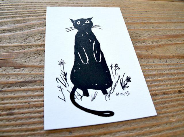 ミヤギユカリ「黒猫」