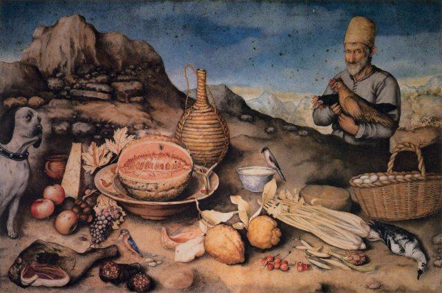 ジョヴァンナ・ガルツォーニ 《The Man from Artemino》、1648~1651 、羊皮紙に水彩 、38.6×60cm、 イタリア、ピッティ美術館蔵