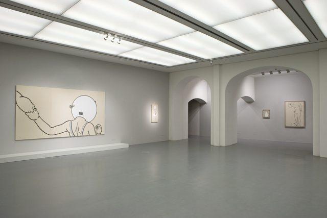 ドイツ、ケストナーゲゼルシャフト(kestnergesellschaft)での町田久美展 展示風景