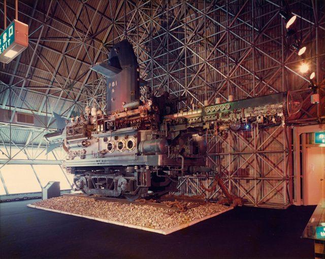 榎忠《スペースロブスターP-81》1981年 撮影:米田定蔵  ©Chu Enoki
