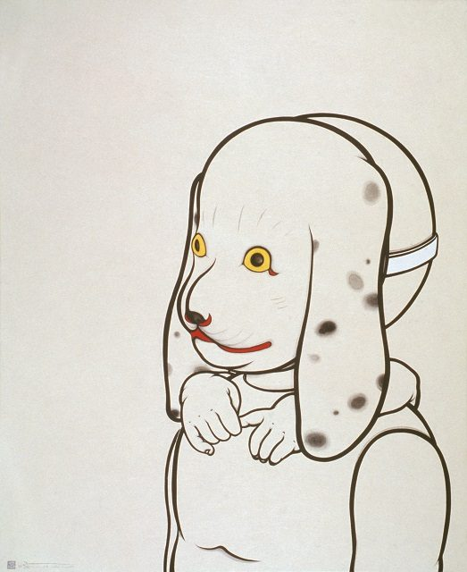 町田久美《留守番の仮面》2005