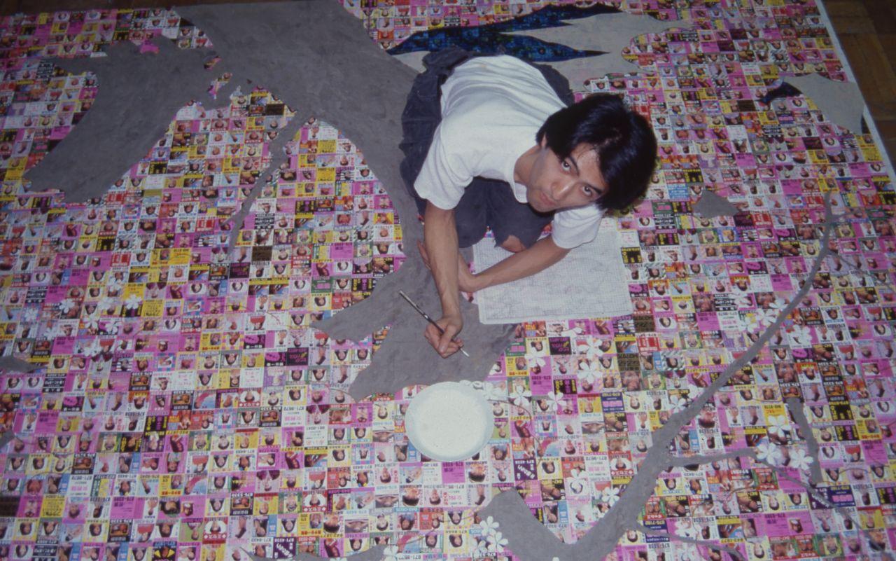 若かりし頃の会田誠さん