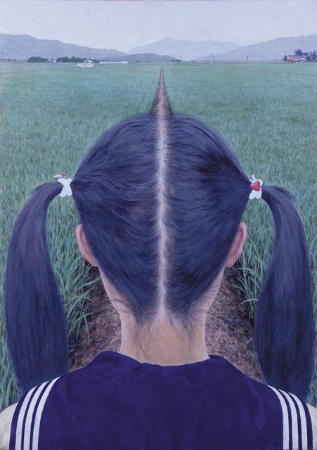 《あぜ道》1991 撮影:宮島径 豊田市美術館蔵 (c) AIDA Makoto Courtesy Mizuma Art Gallery