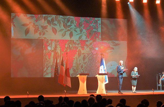 ヨーロッパでは初となる伊藤若冲大規模展「若冲-<動植綵絵>を中心に」の紹介部分。この展覧会をフランスの人たちが見たらどんな反応をするだろうと今から楽しみ。