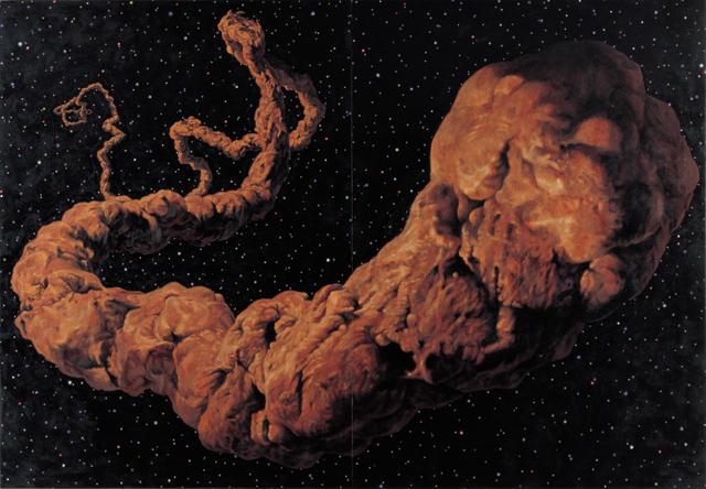 《スペース・ウンコ》1998 撮影:長塚秀人 (c) AIDA Makoto Courtesy Mizuma Art Gallery