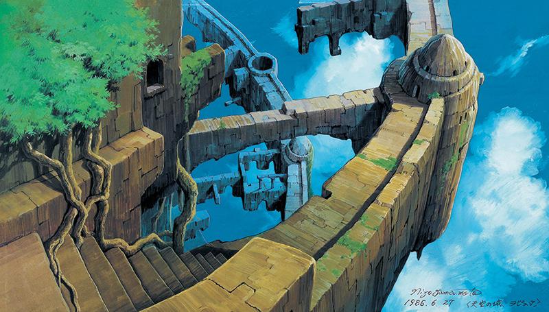 山本二三展 日本のアニメーション美術の創造者