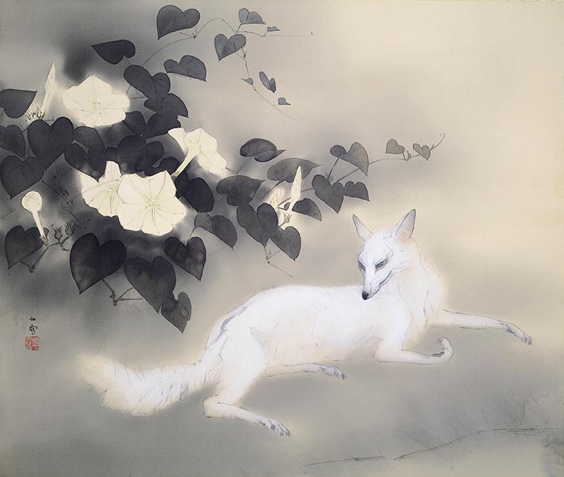 冬季特別展「生誕135年 孤高の画家 橋本関雪」 動物画を中心とする全所蔵作品を一堂に