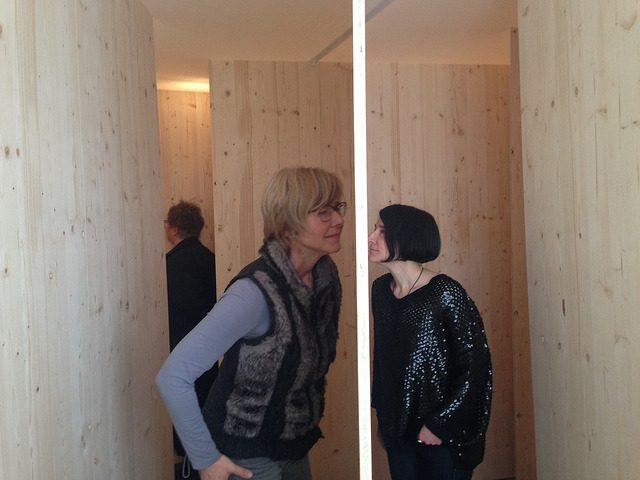 2015年にドイツの展覧会「There is something in the air」で発表された《嗅覚のための迷路 ver 2》