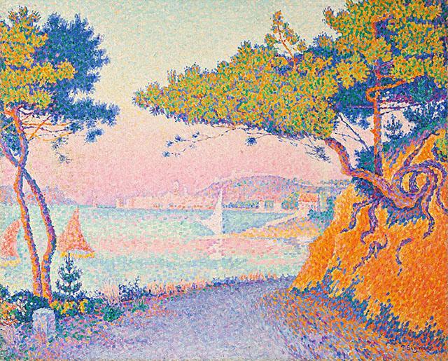 揺らめく光、移ろう自然の色彩をカンヴァスに留めるには? ー 光と色彩の科学で自然の美を描いたポール・シニャック