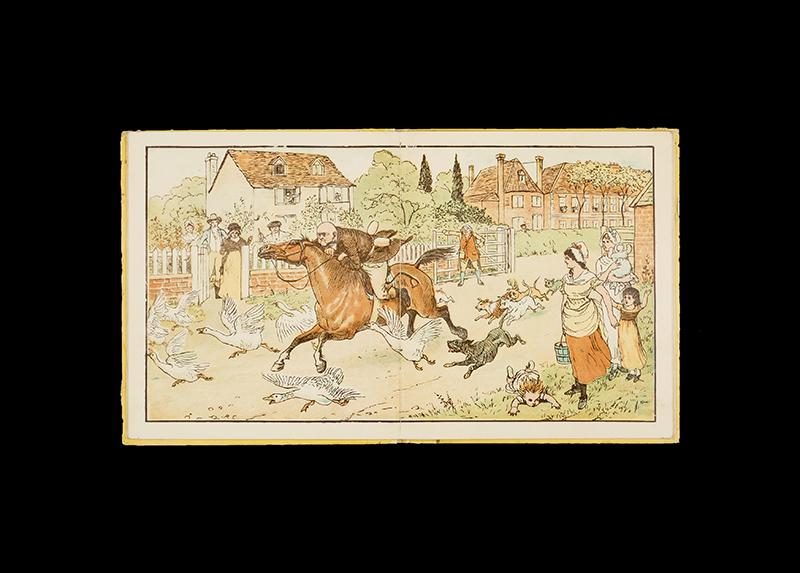 現代絵本の父 ランドルフ・コールデコットの世界